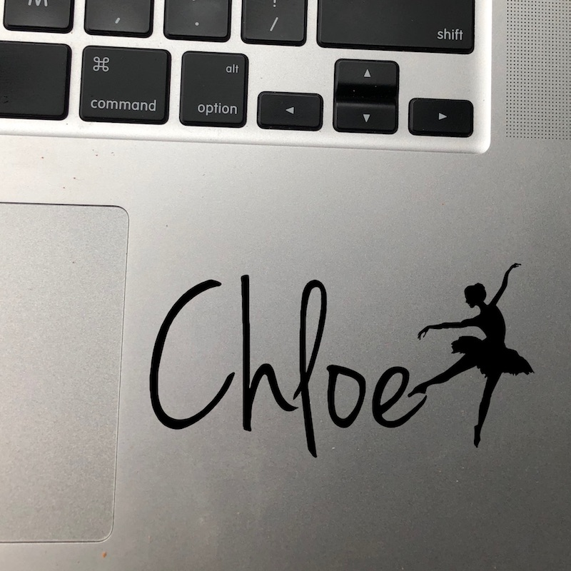 Custom Name Dancer Decal